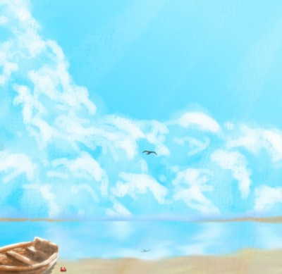 Boat on the beach | Cat_who_draws | Digital Drawing | PENUP