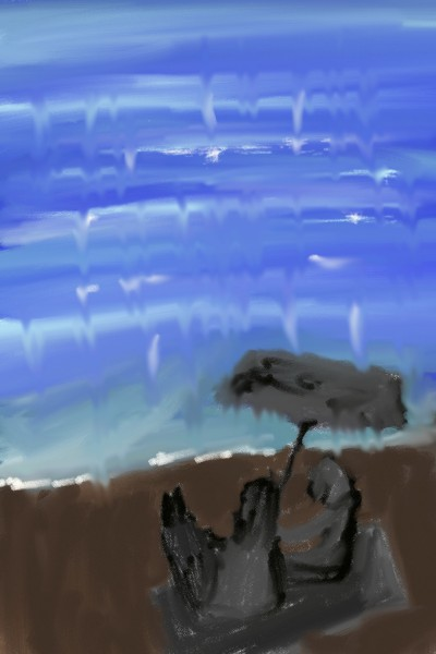 beach   sunhwa   Digital Drawing   PENUP