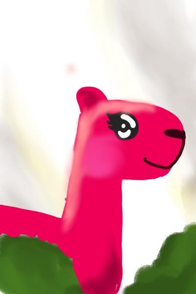 sweet heart the llama ♡ | THE_BEST | Digital Drawing | PENUP