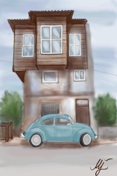 sweet home    mjalkan   Digital Drawing   PENUP