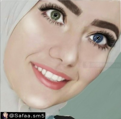 Portrait Digital Drawing | Safaa.sm | PENUP