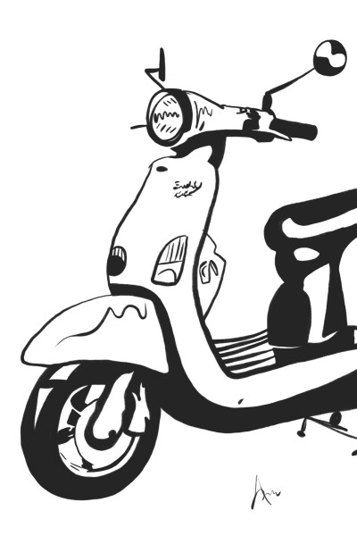 Inktober - Ride | ImpulsivePhotos | Digital Drawing | PENUP