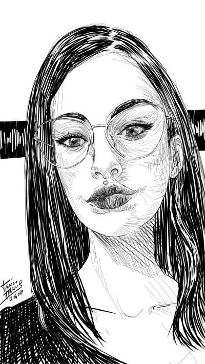 Laura  | jericojhones | Digital Drawing | PENUP