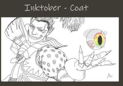 Inktober - Coat | ImpulsivePhotos | Digital Drawing | PENUP