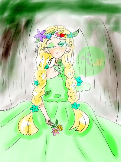 숲의 소녀 | jjoleuttu_SMILE | Digital Drawing | PENUP
