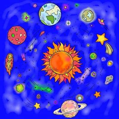 Astronomy Constelation | CloveCiggies | Digital Drawing | PENUP