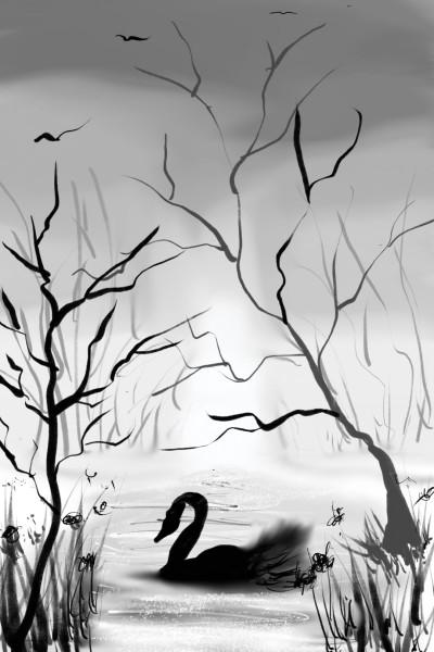 swan | Palettelife | Digital Drawing | PENUP