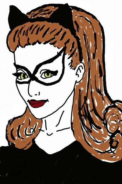 Collab for Crazyartict-Catwoman | Natasha | Digital Drawing | PENUP
