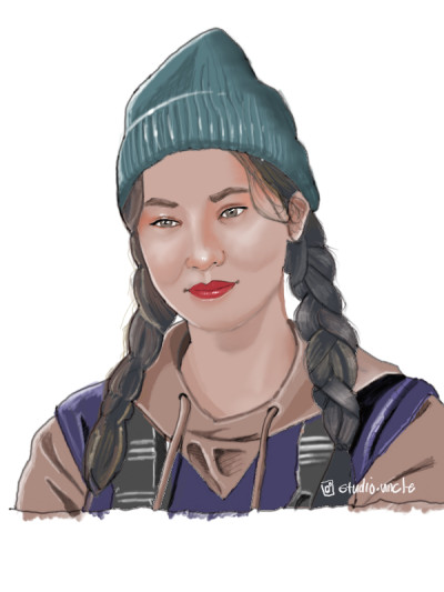 """Jeon Yeo-Been """"Vincenzo""""   opit   Digital Drawing   PENUP"""