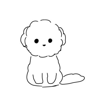 아 그림 올릴게 없어..+이건 친구가 자기네 강아지 그려달라길래..(2분 소요) | yeon_E | Digital Drawing | PENUP