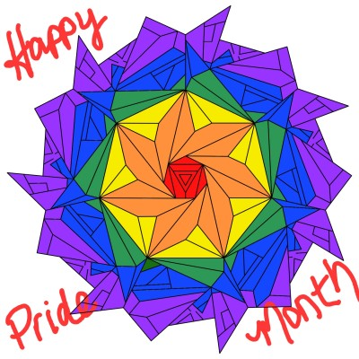 Happy Pride Month   batgirl21   Digital Drawing   PENUP