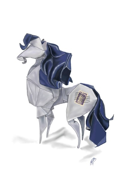 Horse origami | Rebecca | Digital Drawing | PENUP