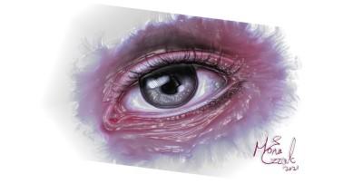 eyes can talk ♡♡ | mona | Digital Drawing | PENUP