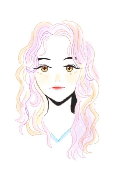 like and follow | BlaBlaBla_ | Digital Drawing | PENUP