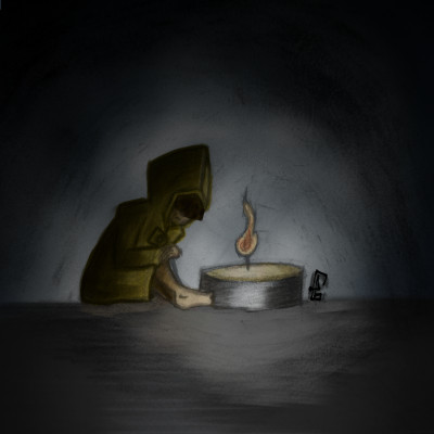 six from little nightmares | Llama_Lord | Digital Drawing | PENUP