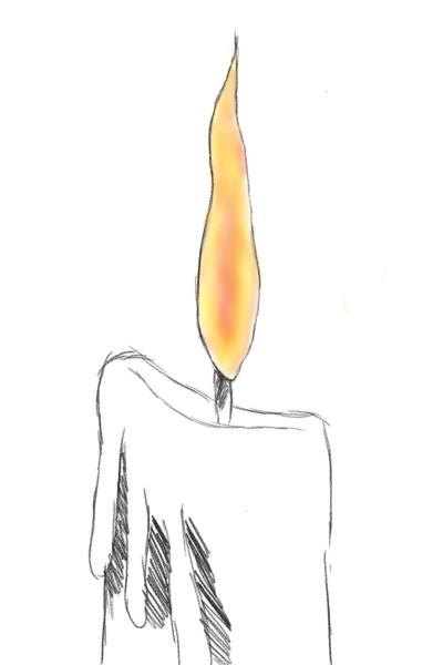 Свеча   Anastasiya-   Digital Drawing   PENUP