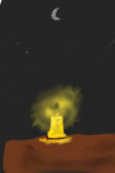 The glimmer of hope among the night.  | Jl_Chloe | Digital Drawing | PENUP
