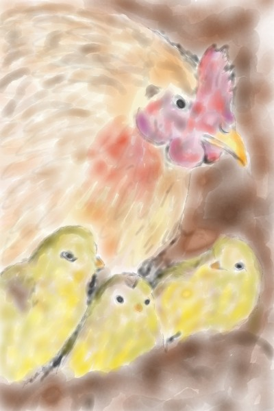 Easter chicks | joyed | Digital Drawing | PENUP
