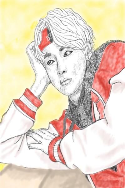Kim Taehyung    bangtan_cristi   Digital Drawing   PENUP