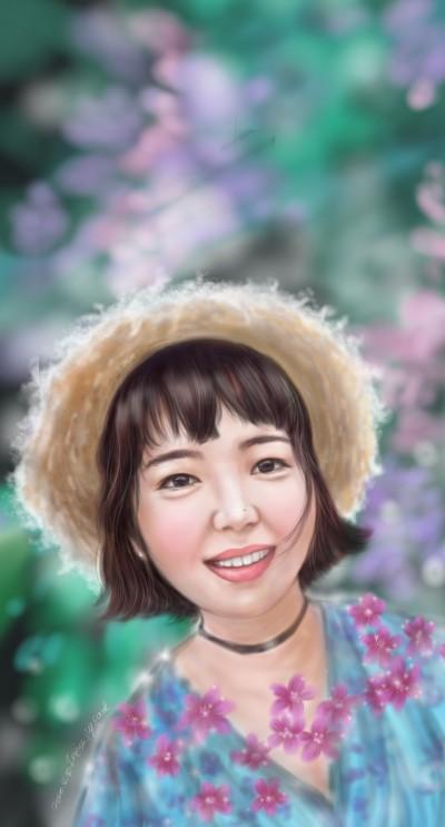girl | Iness_j.y_park | Digital Drawing | PENUP