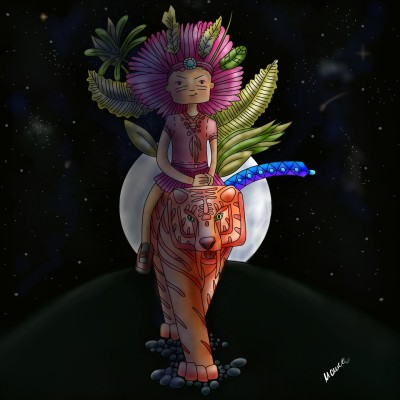 Aboriginal   Monica.Baumann   Digital Drawing   PENUP