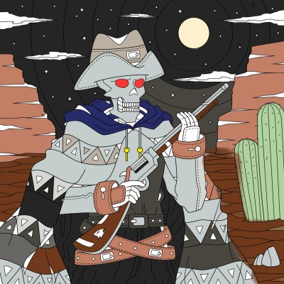 skeleton | killer360all | Digital Drawing | PENUP