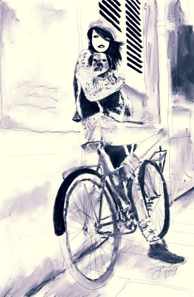 Paris | missdarrian | Digital Drawing | PENUP