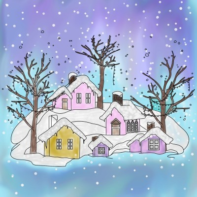 sad winter without you | Joseph-N | Digital Drawing | PENUP