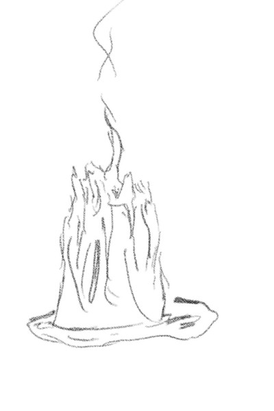 Troy's candle | TraderTroy | Digital Drawing | PENUP
