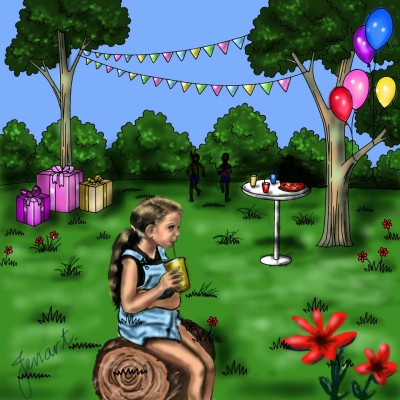 End of Covid Party 2021 | jenart | Digital Drawing | PENUP