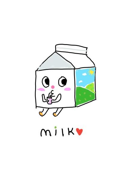 윌크가아니라 밀크(It is not Wilk.It is just milk) | Judy | Digital Drawing | PENUP