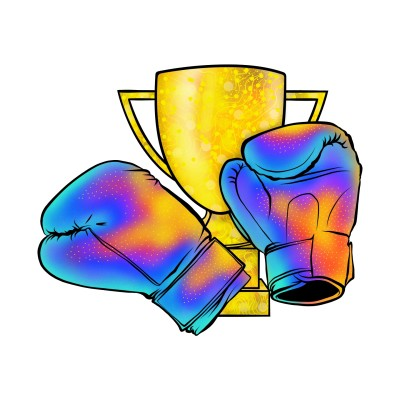 Boxing Glow | Luxurymapss.com | Digital Drawing | PENUP