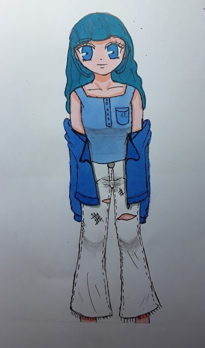 솔라 캐디 | baso_p | Digital Drawing | PENUP