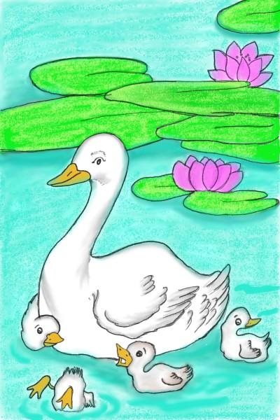 duck challenge  | kap | Digital Drawing | PENUP