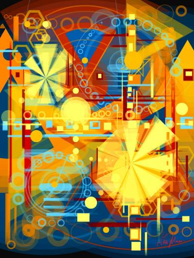 ~ Shining stars ~ Digital painting  | Mishelangello | Digital Drawing | PENUP