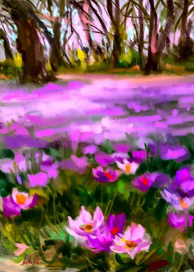 ~ Flower meadow ~ Digital painting | Mishelangello | Digital Drawing | PENUP