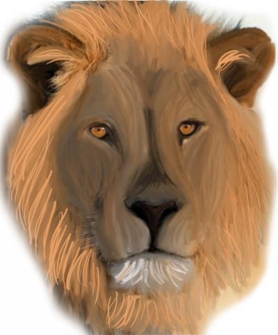 lion | flowerflower | Digital Drawing | PENUP