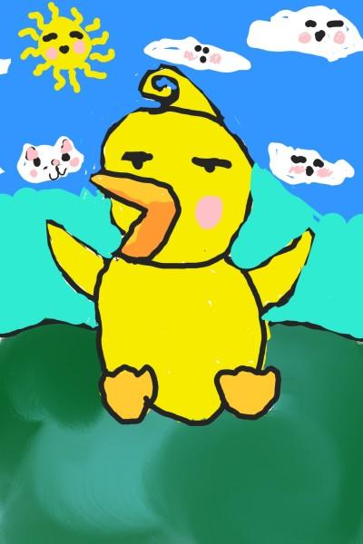 angry Ducky >: ( xD    ledigitalart   Digital Drawing   PENUP