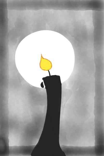 una vela encendida  | juan | Digital Drawing | PENUP