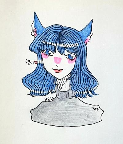 현이!♡! | xy_17 | Digital Drawing | PENUP