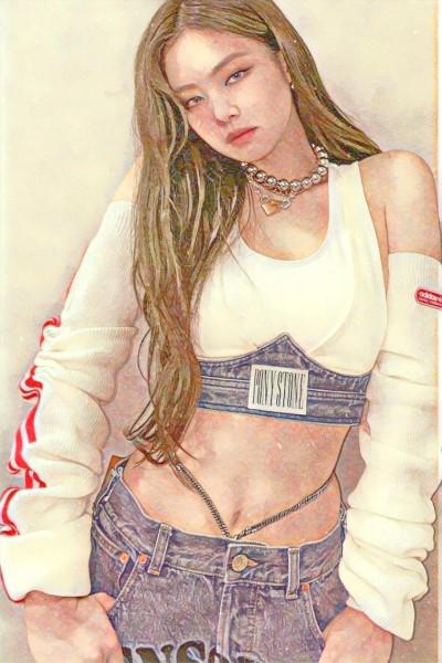 jennie♡♡♡♡ | BELINAY | Digital Drawing | PENUP