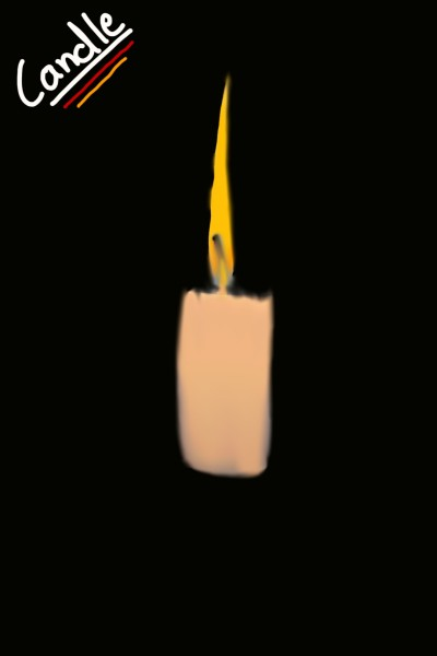 CANDLE | Max_Drawings | Digital Drawing | PENUP