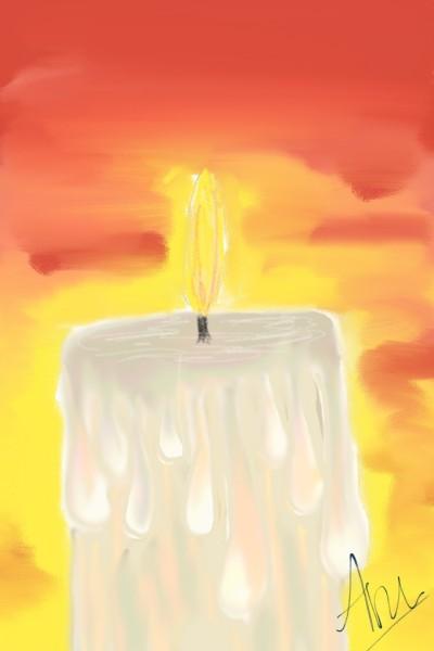candle   Anugraha   Digital Drawing   PENUP