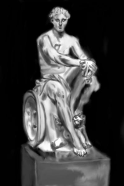 Ares  the god of bloodlust. | Mark349 | Digital Drawing | PENUP