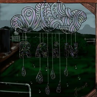 Rain Mobile    jenart   Digital Drawing   PENUP