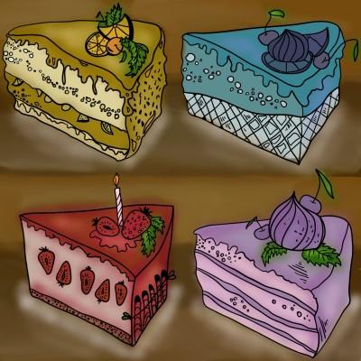 cake | feerdg | Digital Drawing | PENUP
