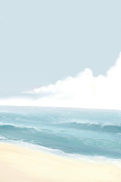 healing ocean view (vol. beach) | Dex.R | Digital Drawing | PENUP