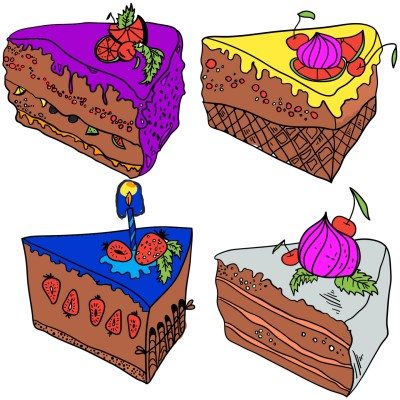 4 nice cakes witch 1 is better    HARRY.   Digital Drawing   PENUP