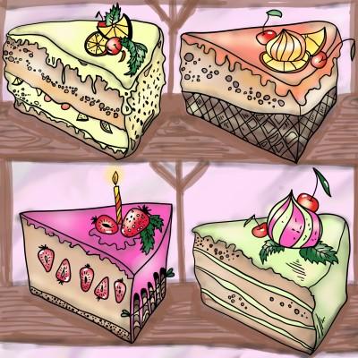 eat me, guilt free | Sylvia | Digital Drawing | PENUP