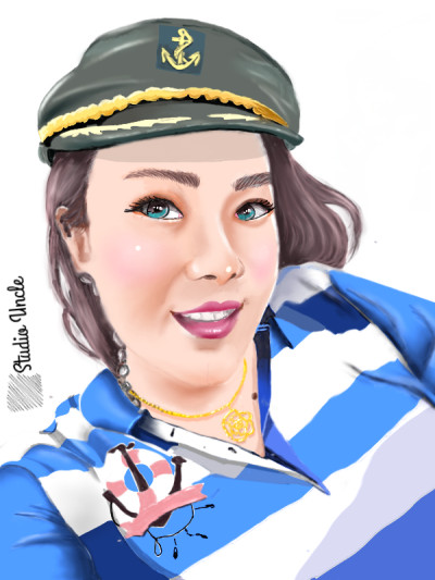 Digital portrait  | opit | Digital Drawing | PENUP
